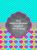 Oklahoma Academic Standards for 6th grade-ELA