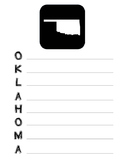 Oklahoma State Acrostic Poem Template, Project, Activity,
