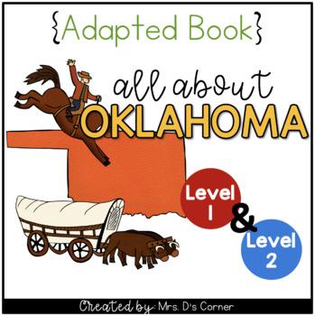 Oklahoma Adapted Books Level 1 And Level 2 Oklahoma State Symbols