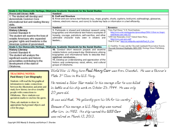 Oklahoma Biography:  Navy Hero Paul Henry Carr