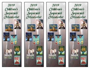 Oklahoma Children's Sequoyah Masterlist Bookmarks (2019)