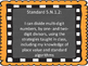 Oklahoma Fifth Grade Math I Can Statements (Burlap and Chalkboard)