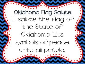 Oklahoma Flag Salute and Pledge of Allegiance