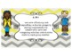 Oklahoma  Grade 5 ELA I Can Statement Poster Format in Yellow and Gray Chevron
