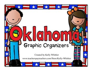 Oklahoma Graphic Organizers (Perfect for KWL charts and ge