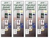 Oklahoma High School Sequoyah Masterlist Bookmarks (2019)