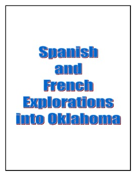 Oklahoma History - French and Spanish Explorations