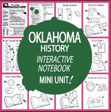 Oklahoma History–Interactive Notebook Oklahoma State Study Unit + AUDIO!