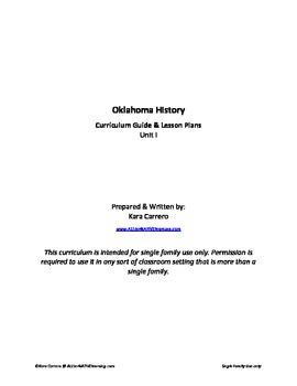 Oklahoma History Unit I - Geography