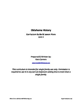 Oklahoma History Unit II - Weather & Climate