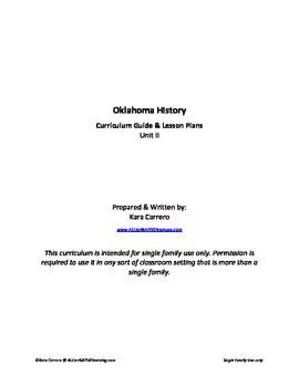 Oklahoma History Unit II - Weather & Climate