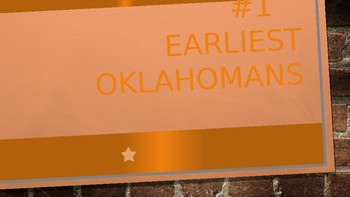 Oklahoma History Week 1