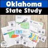 Oklahoma History and Symbols Unit Study with QR Codes