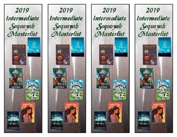 Oklahoma Intermediate Sequoyah Masterlist Bookmarks (2019)