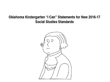 "Oklahoma Kindergarten ""I Can"" Statements for New  SS Standards"