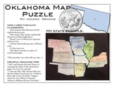 Oklahoma Map Puzzle