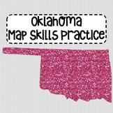 Oklahoma Map Skills Practice