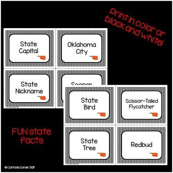Oklahoma Memory Game