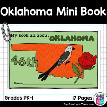 Oklahoma Mini Book for Early Readers - A State Study
