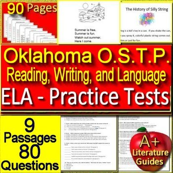 Oklahoma O.S.T.P. Test Prep Practice Tests for 3rd Grade (formally O.C.C.T.)