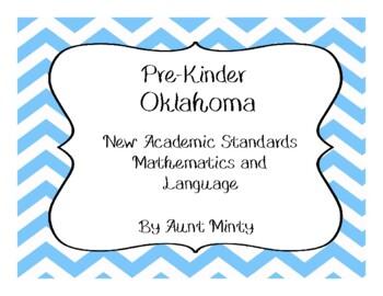Oklahoma Pre-K Math and Language Academic Standards Chevron Theme