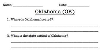 Oklahoma Reading Comprehension