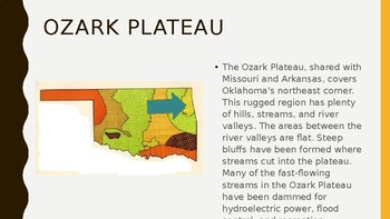 Oklahoma Regions FREEBIE PowerPoint
