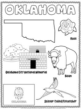 Oklahoma Word Search