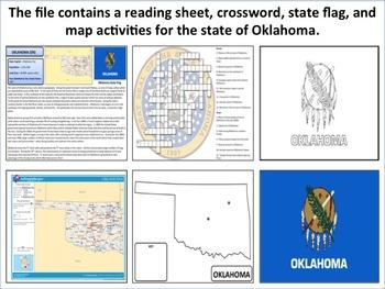 Oklahoma - State Activity Set