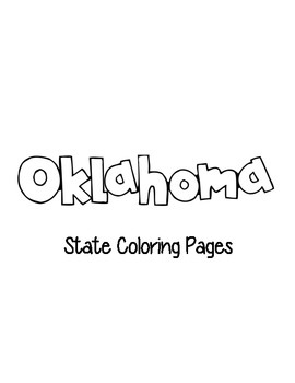 Oklahoma State Coloring Pages