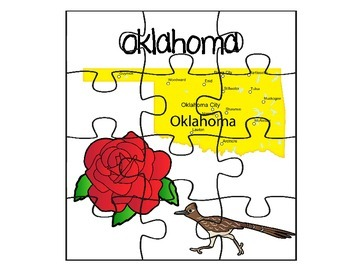 Oklahoma State Fact Puzzle