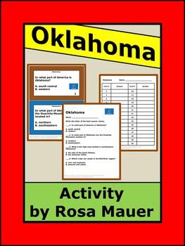 Oklahoma Hello USA