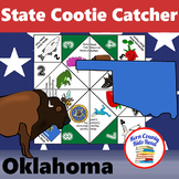 Oklahoma State Facts and Symbols Cootie Catcher Distance L
