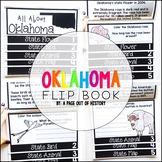 Oklahoma State Flipbook Interactive Activity for Social Studies