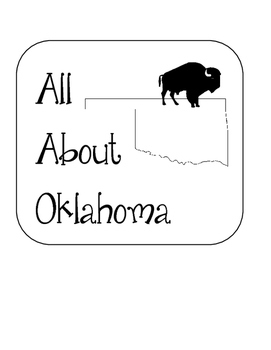 Oklahoma State Lapbook. Interactive Notebook. US History and Geography