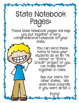 Oklahoma State Notebook. US History and Geography