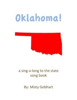Oklahoma! State Song in book form