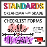Oklahoma State Standards Checklist 4th Grade
