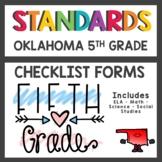 Oklahoma State Standards Checklist 5th Grade