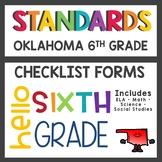 Oklahoma State Standards Checklist 6th Grade