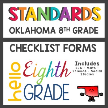Oklahoma Standards Worksheets Teaching Resources TpT