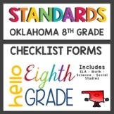 Oklahoma State Standards Checklist 8th Grade