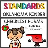 Oklahoma State Standards Checklist Kindergarten