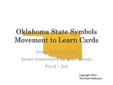 Oklahoma State Symbol Movement to Learn Cards