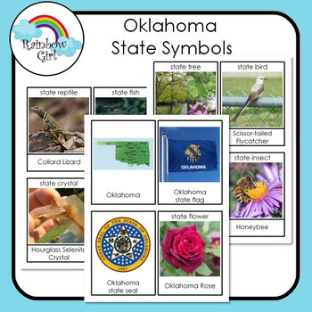 Oklahoma State Symbols Worksheets & Teaching Resources | TpT