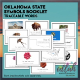 Oklahoma State Symbols Booklet - Traceable Words