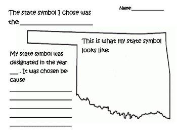 Oklahoma State Symbols Report