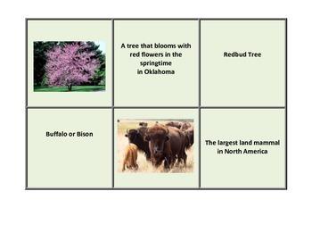 Oklahoma State Symbols Task Cards