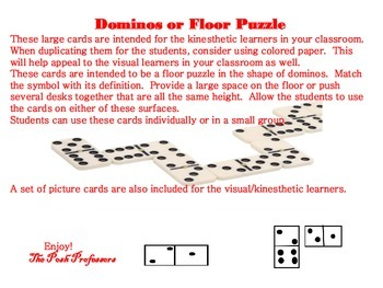 Oklahoma Symbol Large Domino Floor Game