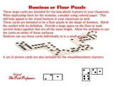 Oklahoma Symbol Large Domino Floor Game